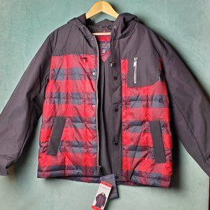 Pendleton Men's Fill Down Jacket Coat with Hood